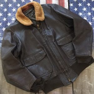 Other - G-1 leather flight jacket